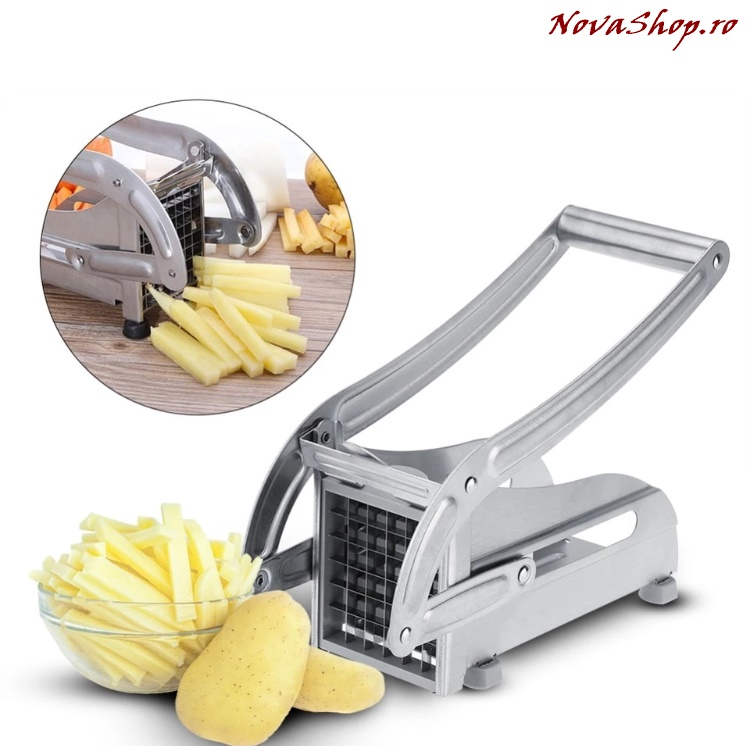Aparat de taiat cartofi din otel inoxidabil