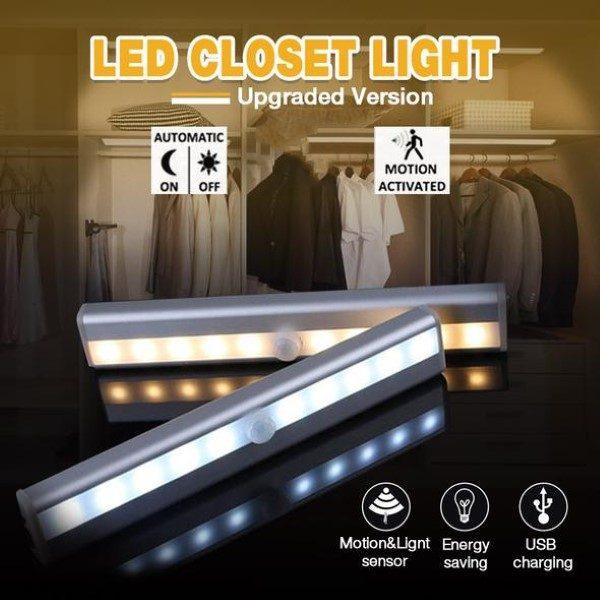 Lampă LED cu senzor de mișcare LUMICOM