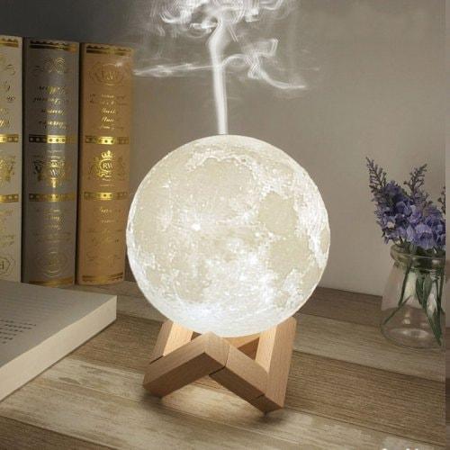 LAMPA DE VEGHE FORMA LUNA 3D , CU UMDIFICATOR