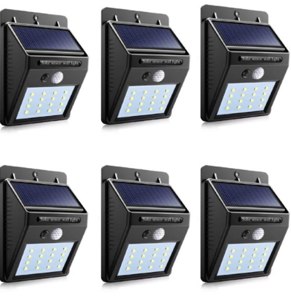 SET 6 LAMPI SOLARE cu 20 LEDURI