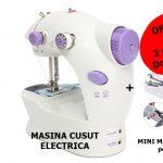 PACHET PROMOTIONAL: MASINA CUSUT electrica + MINI MASINA CUSUT portabila