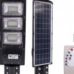 LAMPA STRADALA cu incarcare solara si senzor de miscare 30/60/90/120W